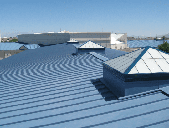 Metal Roofs are Ideal for Commercial Structures