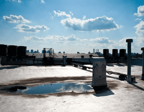 Signs Your Commercial Roof Has Water Damage